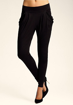 bebe Draped Jersey Atlas Legging