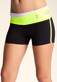 Colorblock Logo Short at bebe