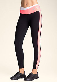 bebe Colorblock Logo legging