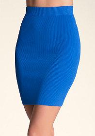 bebe Rib Pencil Skirt