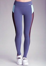 bebe Colorblock Mesh Legging