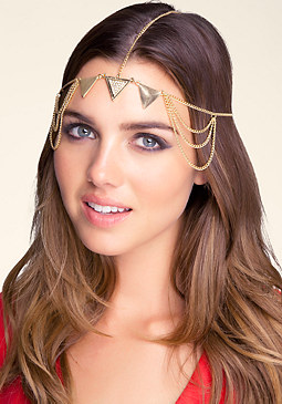 bebe Triangle Head Piece