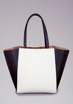bebe Madalyn Colorblock Tote