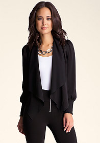 bebe Waterfall Jacket