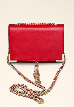 Chain Crossbody Purse at bebe