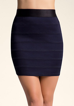 bebe Bodycon Skirt