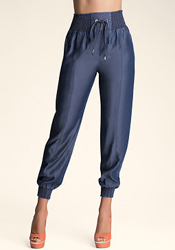 Chambray Pants at bebe