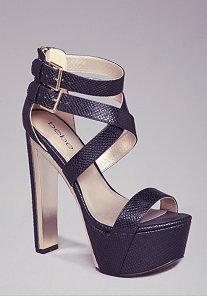 Delana Strappy Sandals at bebe