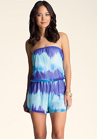 Bubble Hem Romper at bebe