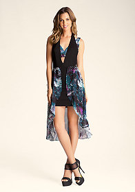 Hi-Low Butterfly Dress at bebe