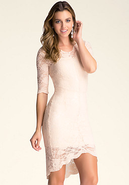 Lace Dress at bebe