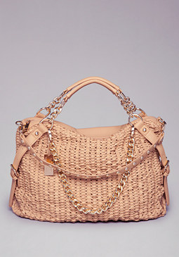 bebe Denise Textured Tote