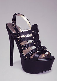 LAILA STRAPPY SANDALS at bebe