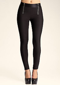 bebe Double Zip Legging����