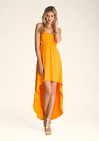 Cutout Waist Maxi Dress at bebe