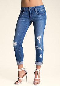 bebe McKenzie Boyfriend Jeans