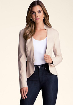Peplum Jacket at bebe