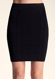 Bandage High Waist Skirt at bebe