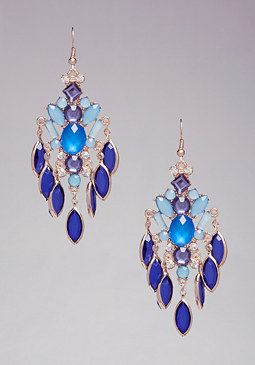 bebe Colored Statement Earrings