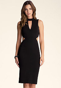 Open Back Midi Dress at bebe