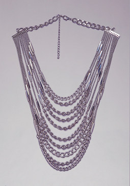 bebe Multi-layer Chain Necklace