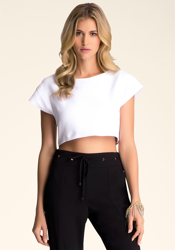 Crop Boxy Top