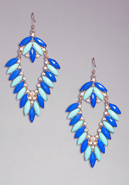 bebe Stone & Crystal Earrings