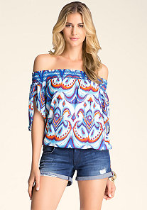 Peasant Top at bebe