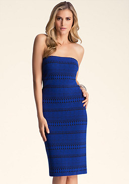 STRAPLESS MIDI DRS at bebe