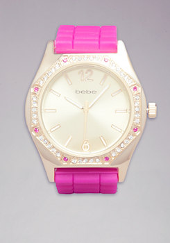 Colored Stone  Gel Watch at bebe