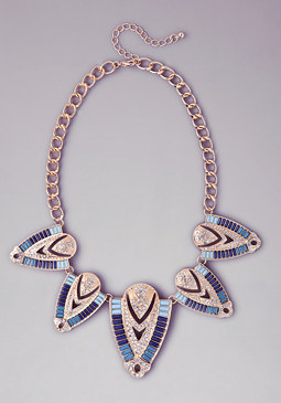 bebe Aztec Necklace