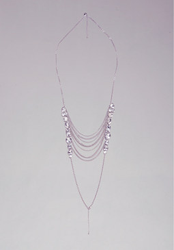 bebe Draped Chain Body Jewelry