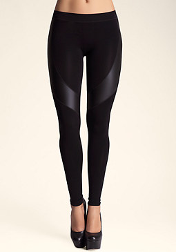 bebe Curved Leggings