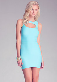 bebe Leyna Cutout Dress