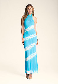 bebe Tie Dye Crochet Maxi Dress ���