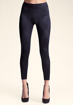 Wide Mega Zip Leggings at bebe