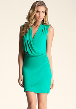bebe Sleeveless Mini Dress