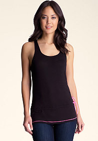Logo Drawstring Tank at bebe