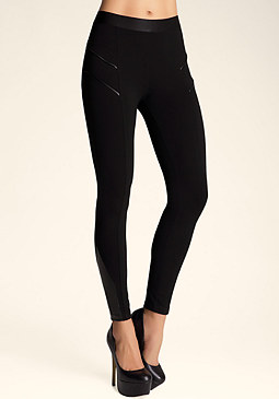 bebe Leggy Blocked Leggings