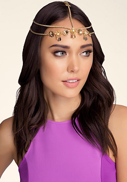 bebe Flower Headpiece