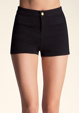 HIGH WAIST SHORTS at bebe