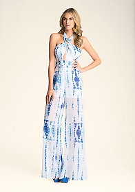 Print O-Ring Jumpsuit at bebe