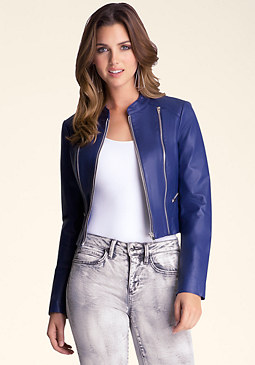 bebe Kimmie Cropped Jacket ��������