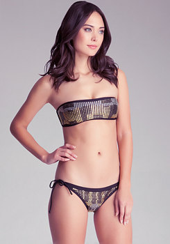 Studded Bandeau at bebe