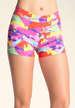 bebe Printed Boy Shorts