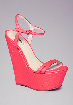 ANNAKAY WEDGES at bebe
