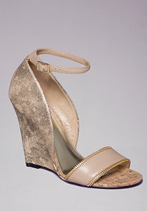 SYLVANA SINGLE SOLE WEDGES at bebe