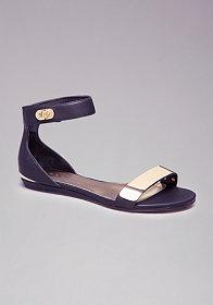 bebe Reagan Flat Sandals