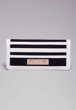 TRINA COLORBLOCK WALLET at bebe
