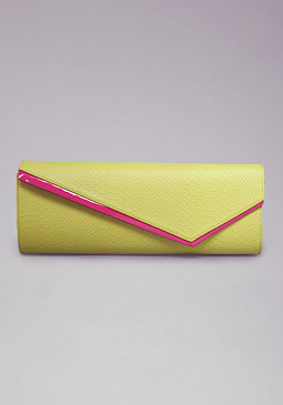 bebe Ellie East West Clutch